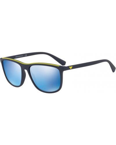 Солнцезащитные очки стеклянные пластиковые Emporio Armani