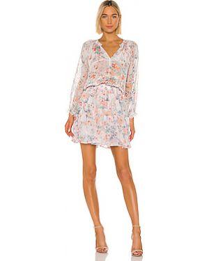 Платье с поясом со складками из вискозы Velvet By Graham & Spencer