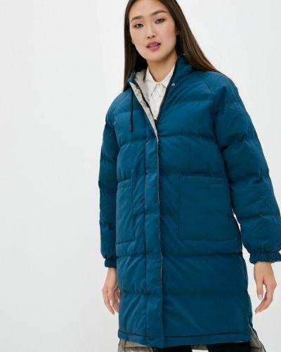 Бирюзовая утепленная куртка Macleria