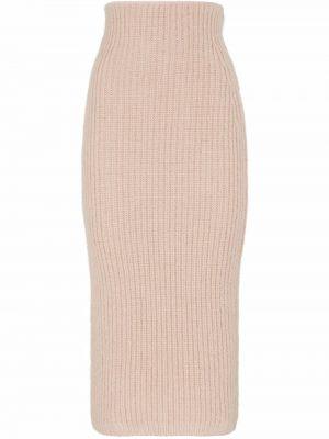 Юбка карандаш - розовая Fendi