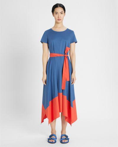 Голубое платье Maxmara