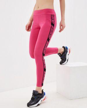 Брюки розовый весенний Guess Jeans