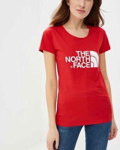 Красное поло The North Face