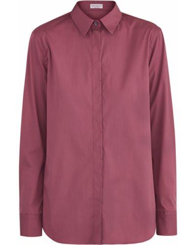 Блузка приталенная классическая Brunello Cucinelli