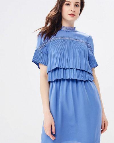 Синее платье весеннее Morgan