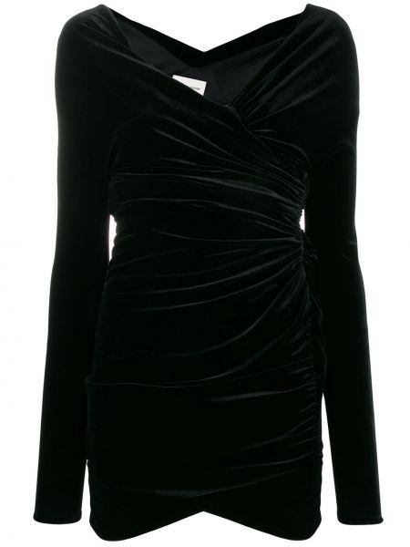 Платье мини с запахом со складками Alexandre Vauthier
