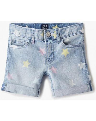 Шорты джинсовые голубой Gap