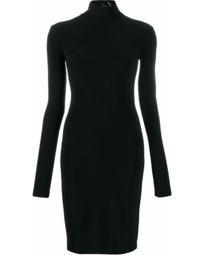 Платье с вырезом с длинными рукавами Norma Kamali