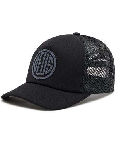 Czarna czapka z daszkiem Deus Ex Machina