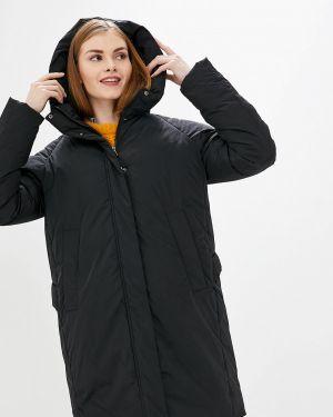 Утепленная куртка демисезонная черная Tom Farr