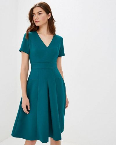 Платье бирюзовый осеннее Anastasia Kovall