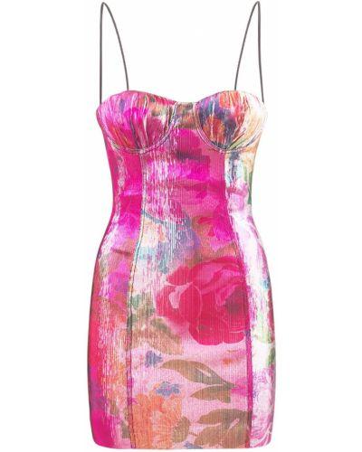 Sukienka mini z printem Bec & Bridge