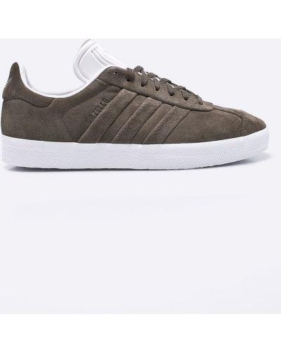 Кроссовки на шнуровке замшевые Adidas Originals