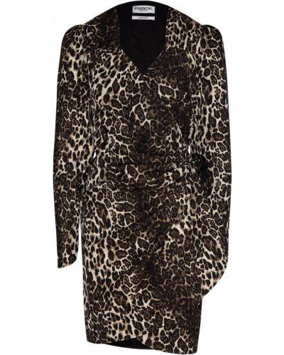 Платье мини с запахом платье-комбинация Essentiel Antwerp