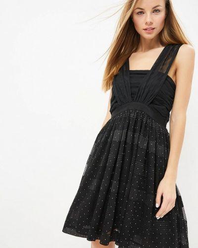 Вечернее платье осеннее Naf Naf