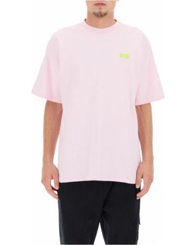 Różowa t-shirt Gcds