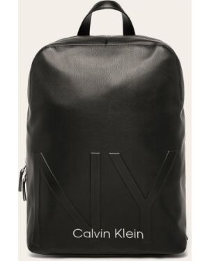 Plecak z wzorem czarny Calvin Klein