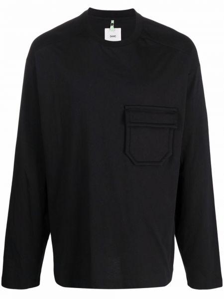 Czarna t-shirt bawełniana Oamc