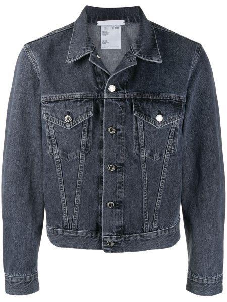 Джинсовая куртка на пуговицах с карманами Helmut Lang