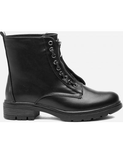 Яркие ботинки - черные Jenny Fairy