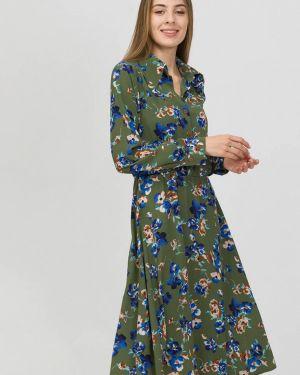 Платье платье-рубашка зеленый Raimaxx