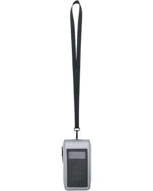 Клатч на молнии прозрачный Karl Lagerfeld