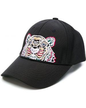 Czapka z logo czarny Kenzo