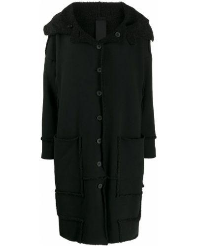 Коралловое длинное пальто двустороннее Rundholz Black Label