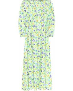 Платье макси с цветочным принтом весеннее Bernadette
