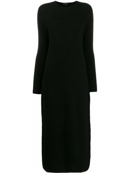 Платье макси вязаное с длинными рукавами Antonelli