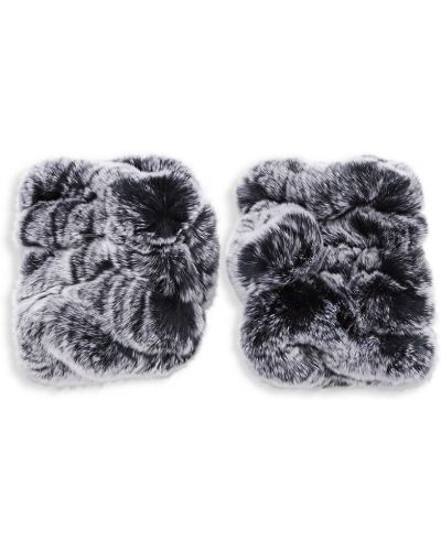 Rękawiczki bez palców - czarne Surell