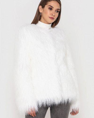 Белая шуба Grand Furs