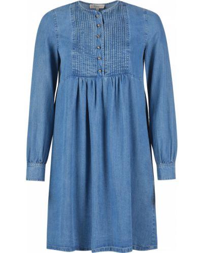 Платье весеннее синее Paul & Joe