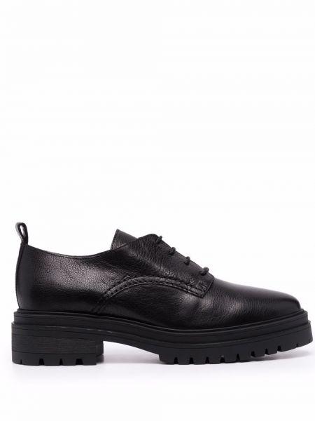 Черные кожаные лоферы Ba&sh