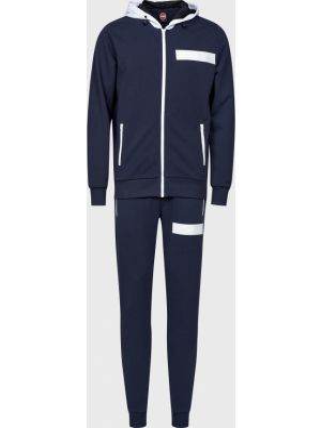 Костюмный синий костюм на молнии Colmar Originals