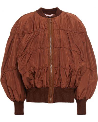 Brązowa kurtka pikowana Vivetta
