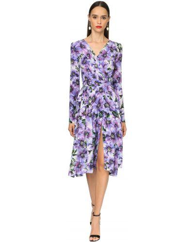 Платье миди макси через плечо Dolce & Gabbana