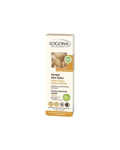 Краска для волос светлых оттенков Logona
