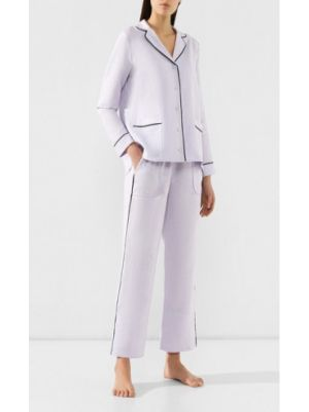 Пижама с рубашкой с карманами Yolke