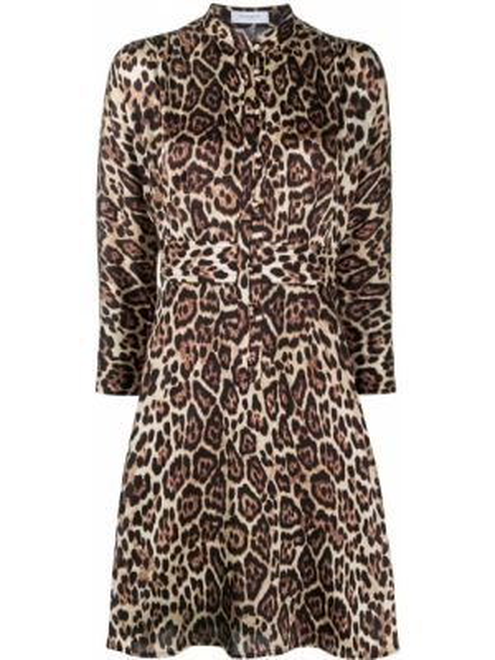 Платье леопардовое платье-рубашка Equipment