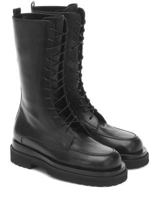 Czarne ankle boots skorzane Magda Butrym