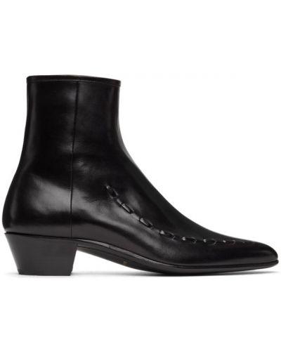 Ankle boots, czarny Saint Laurent