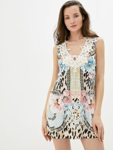 Пляжное платье платье-туника весеннее River Island