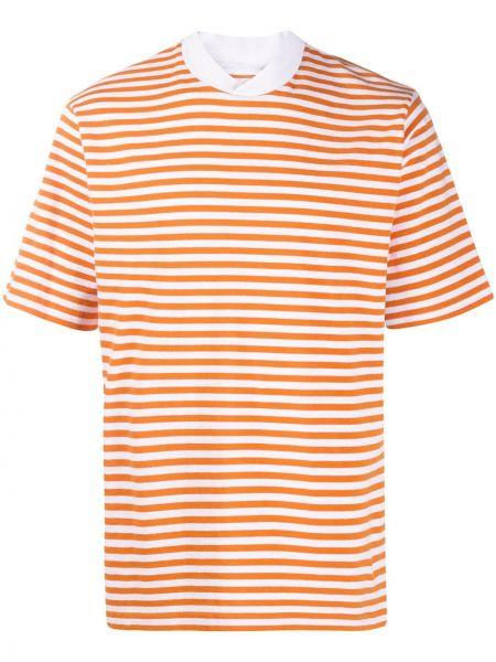 Koszula krótkie z krótkim rękawem z paskami w paski Barbour