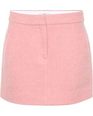 Różowy spódnica z moheru Tibi