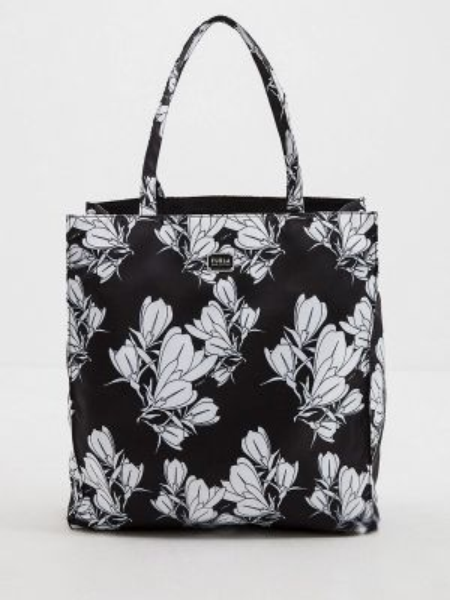 Сумка шоппер черная весенний Furla
