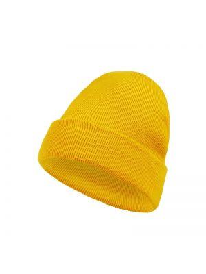 Bezpłatne cięcie żółty czapka baseballowa bezpłatne cięcie na gumce Mcneal