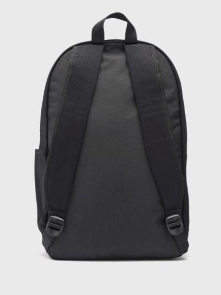 Хлопковый черный рюкзак для ноутбука с карманами Reebok