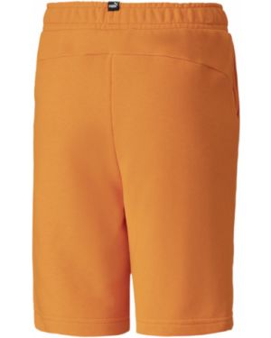 Оранжевые повседневные короткие шорты Puma