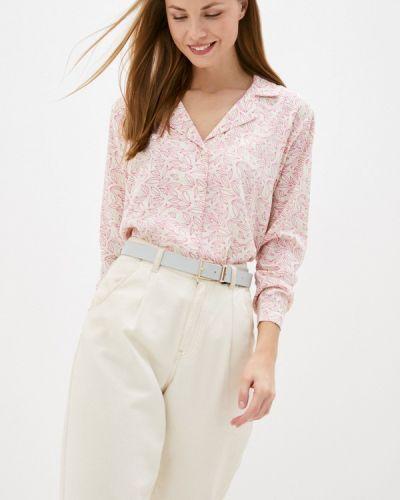 Бежевая блузка с длинными рукавами Compania Fantastica